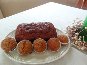 Pumpkin Loaf and Muffins